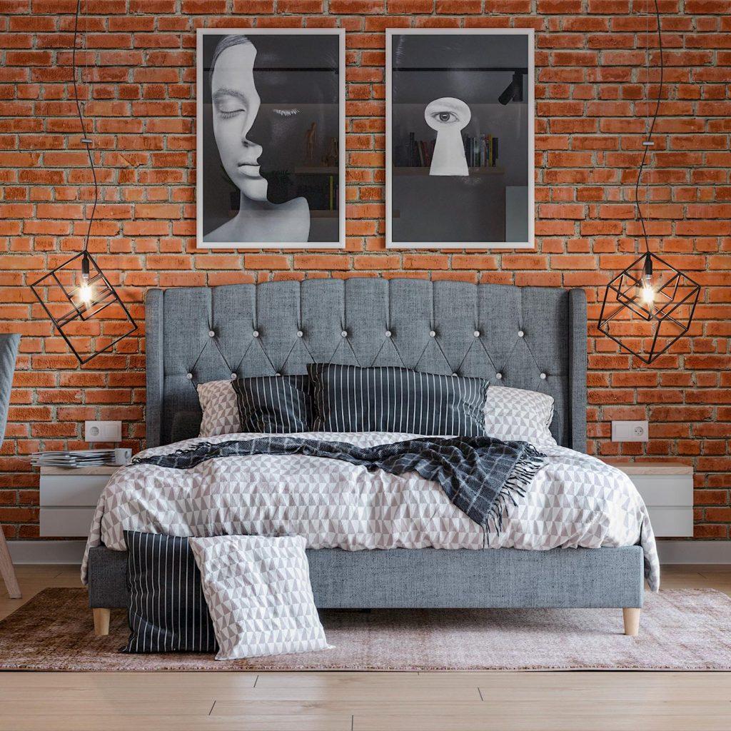 fotorealistyczna-wizualizacja-sypialnia-w-kolorze-zielonym-w-stylu-industrialnym-cgi-creo3d